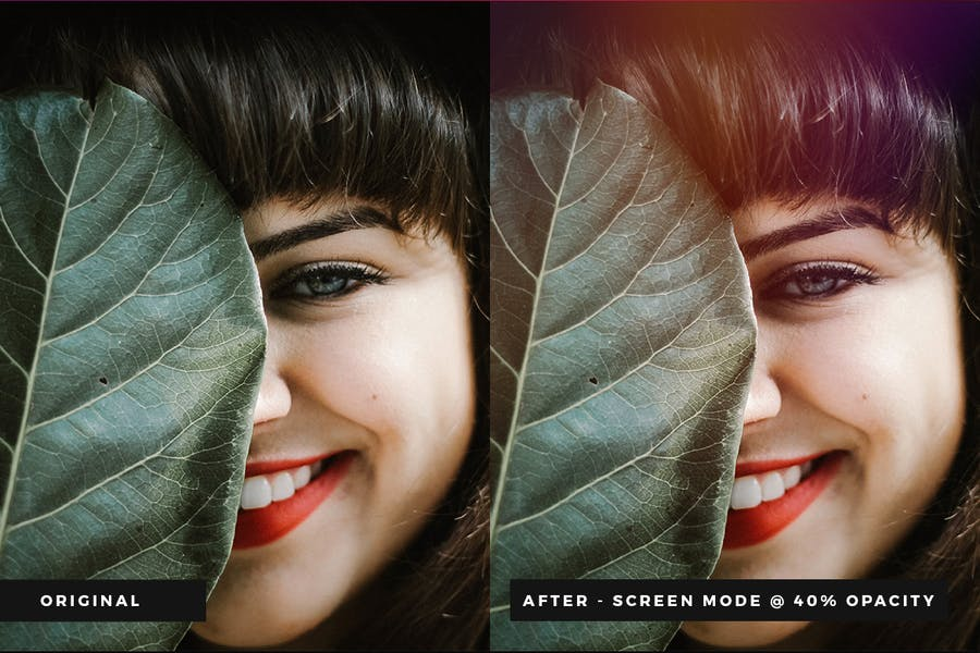 Vintage Light Leak Overlays - product preview 5
