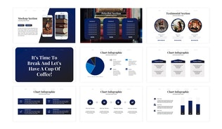 Thumbnail for Library - Business Powerpoint Template