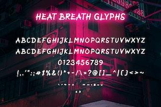 Miniature pour Heat Breath - Brosse Texture Police