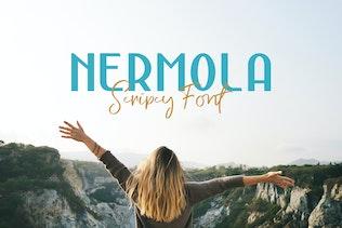 Miniatura para NERMOLA Scripcy Font