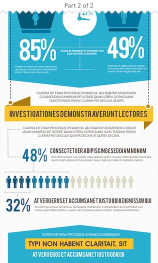 Thumbnail for Business Performance Infographics Template