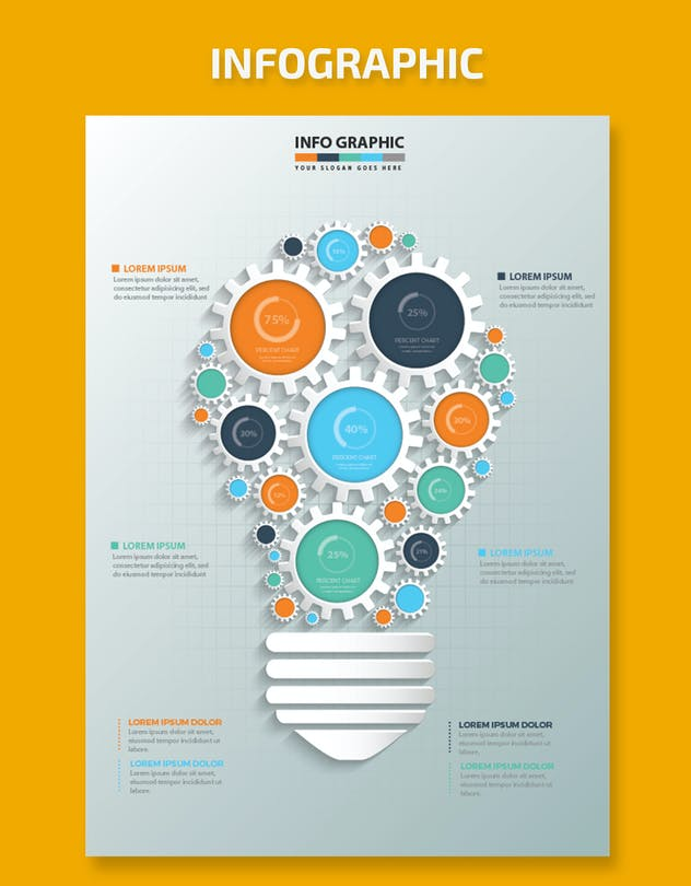 Idea Infographic Design - product preview 3