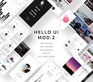 Thumbnail for Hello UI Kit Mod. 2