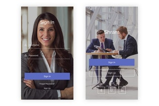 Shram - Kit d'interface utilisateur de recherche d'emploi