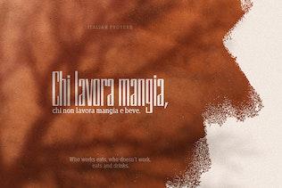 Vernazza Luxury Font Duo Negro