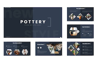 Thumbnail for Pottery - Google Slides Template