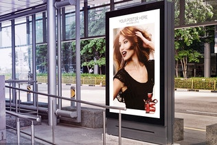 7 Citylight Poster Mock-Up