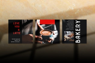 Thumbnail for Coffee and Bakery Shop Instagram Puzzle