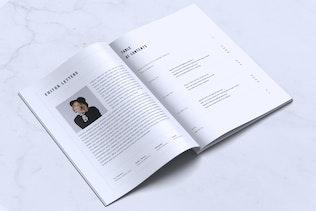 Thumbnail for NUCKLES // Minimal Lookbook Magazines