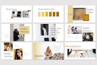 Thumbnail for Dexa - Google Slides Template