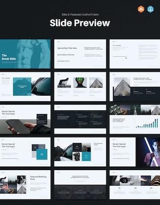 Thumbnail for VOTE - Minimal Google Slide Template