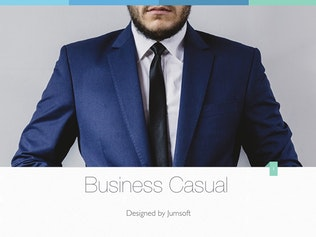 Thumbnail for Business Casual Keynote Template