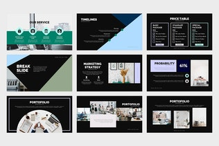 Thumbnail for Union : Pitch Deck Powerpoint Template