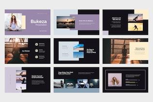 Thumbnail for Bukeza - Yoga & Meditation Google Slides