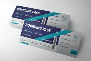 Thumbnail for Boarding Pass Airline  Ticket