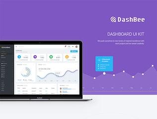 Thumbnail for DashBee - CMS Dashboard UI Kit