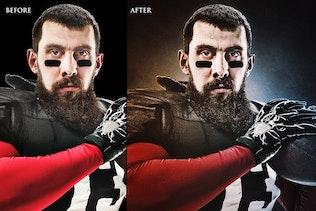 Миниатюра для Темное зерно Photoshop Action