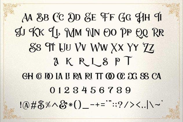 Zailander - Vectorian Vintage Font - product preview 1