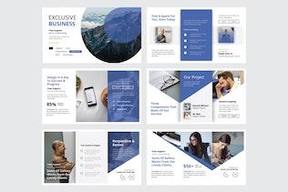 Thumbnail für EXKLUSIVE BUSINESS - Powerpoint V329