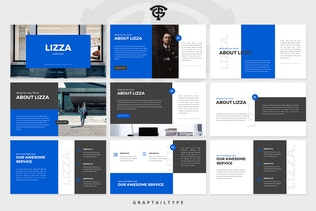 Миниатюра для Корпоративный компания Lizza - Google Слайды