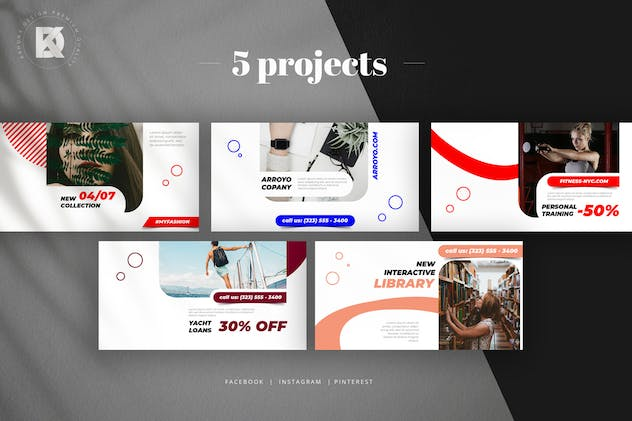 Social Media Pack - product preview 2