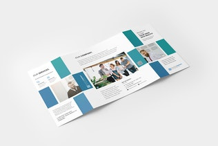 Thumbnail for Square Gatefold Brochure