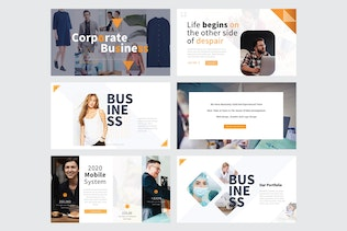 Thumbnail for CORPORATE BUSINESS - Keynote V379