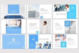 Миниатюра для Acile — бизнес-Шаблон Powerpoint