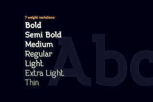 Miniatura para Practish familia tipográfica