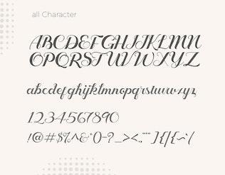 Thumbnail for Geruthu Font