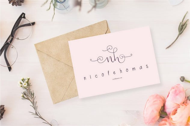 Beauty and Love - Font Duo + Extra - product preview 4