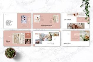 Thumbnail for GARSIA - Wedding Organization Keynote Template