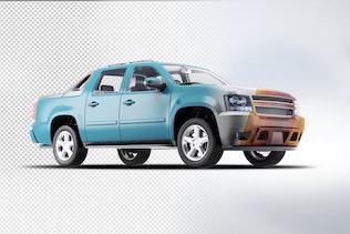 Thumbnail for 4X4 Pickup Truck Mock-Up