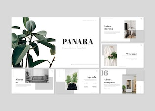 Thumbnail for Panara - Google Slides Template