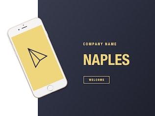 Thumbnail for Naples Keynote Template