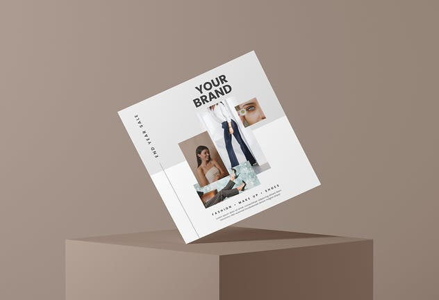 Fashion Sale - Minimal Flyer Media Kit - product preview 1