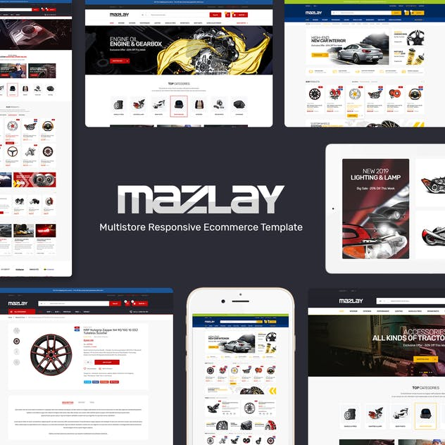 Mazlay - Car Accessories Prestashop Theme