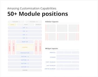 Miniature pour Acamar — Modèle Joomla réactif de mise en page carrelée