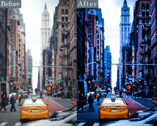 Streetographie V2 - Cinematic Lightroom Presets