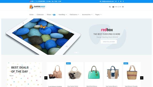 Super Shop | Multipurpose, MultiStore Shopify - product preview 13
