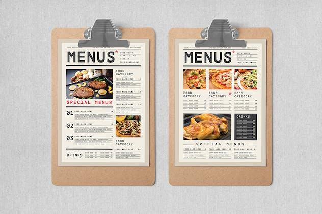 Simple Food Menus - product preview 1