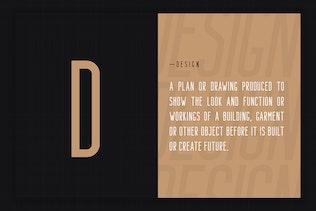 Miniatura para Bondie - Fuente Condensada Sans Con serifa