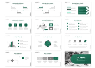Миниатюра для Zeanola | Шаблон Powerpoint