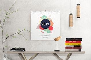 Thumbnail for Wall Calendar Mockups