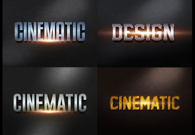 3D Text Effects col4 - product preview 2