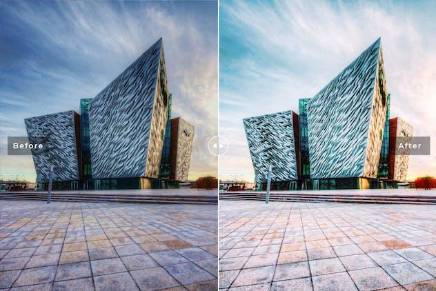 Belfast Mobile & Desktop Lightroom Presets - product preview 3
