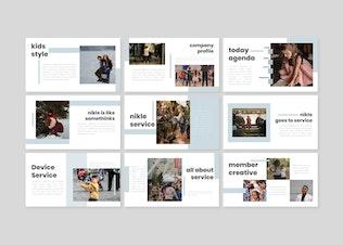 Thumbnail for Nikle - Google Slides Template