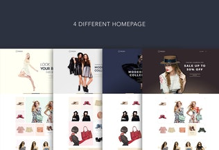 Thumbnail for LaModa Fashion Template PSD