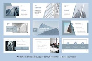 Pro Business Powerpoint Template