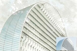 Миниатюра для Архитектура Sketch искусства PS Действия